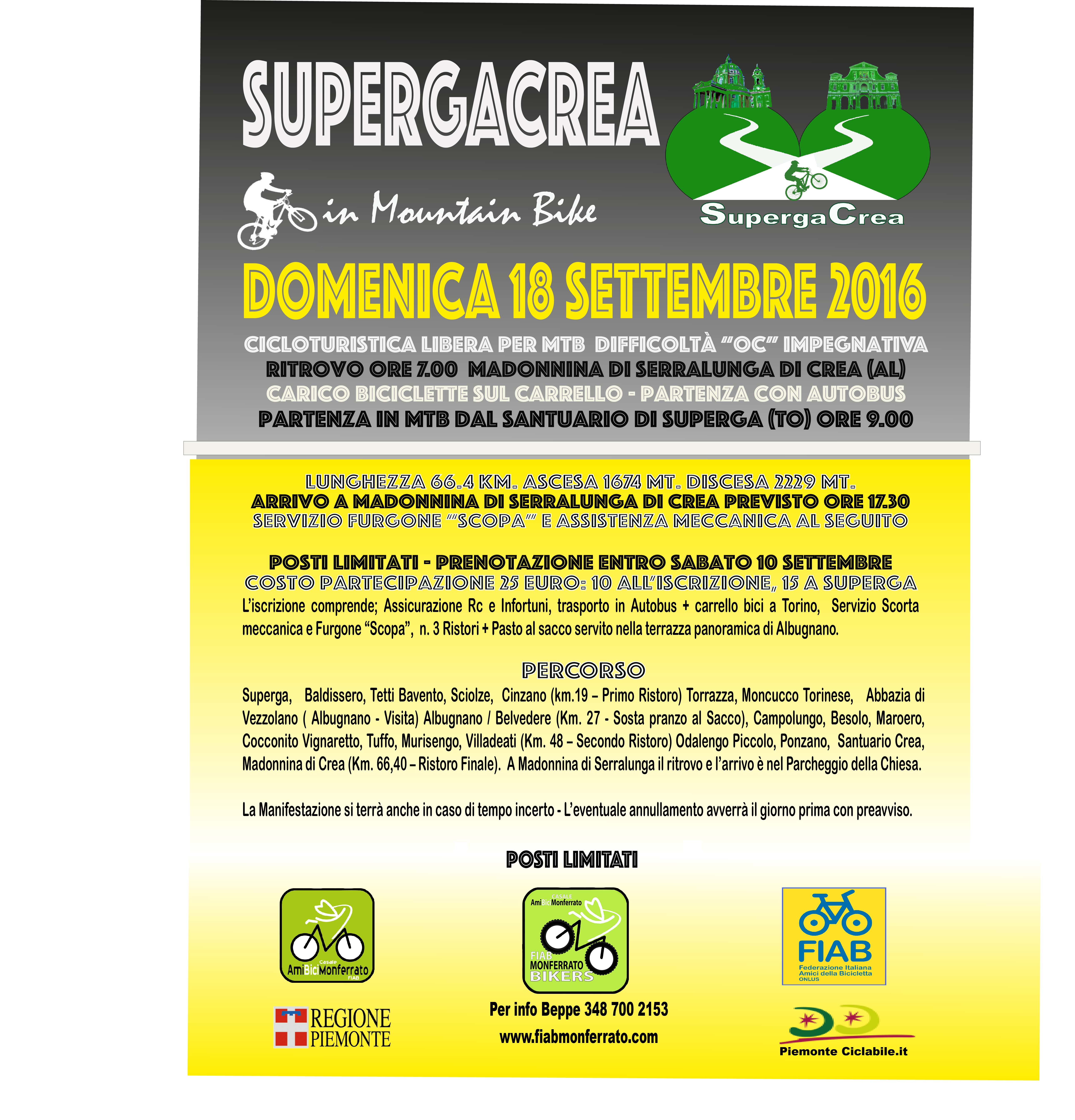 Superga - Crea -Cicloturismo Country in Mtb