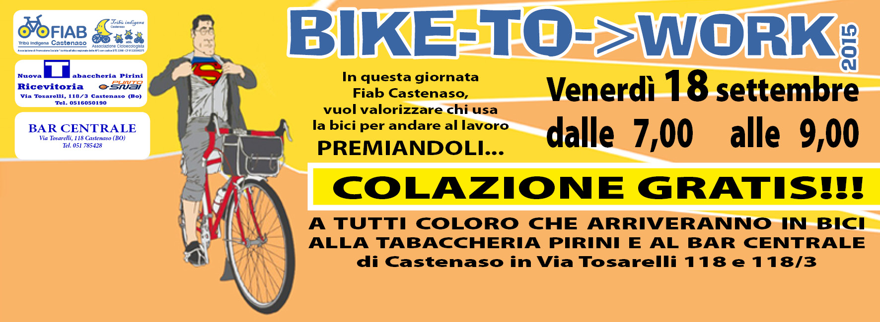 Bike to Work day a Castenaso (Bo)