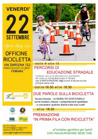 Open day alle officine Ricicletta