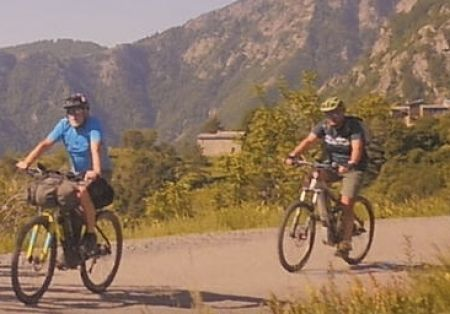 E-Bike tour sull'Alta Via del Sale