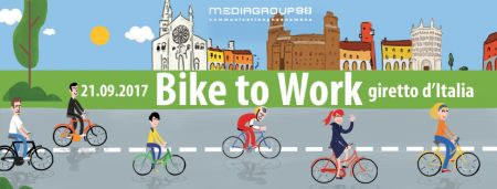 Bike to Work - Giretto d'Italia @ Mediagroup98